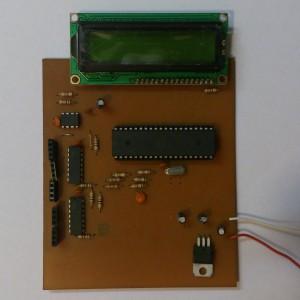 مدار خازن و مقاومت سنج دیجیتال RC Meter