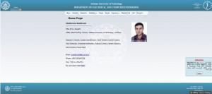 تصویری از پورتال اینترنتی جناب آقای دکتر نوشیروانی